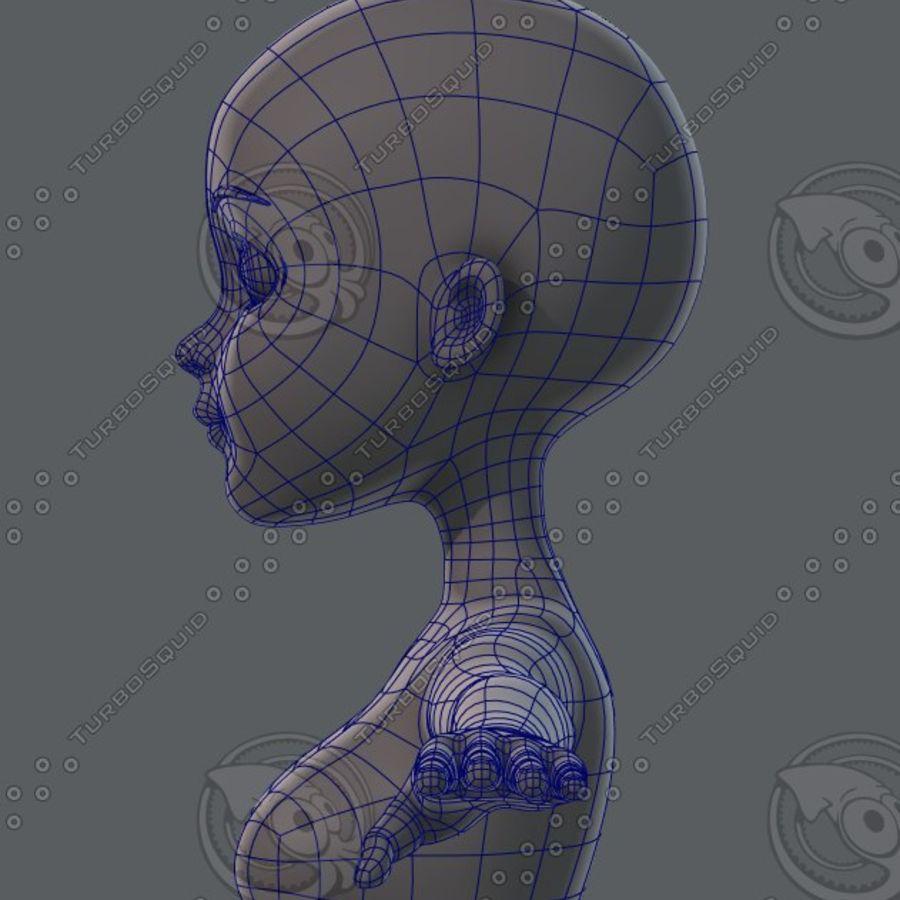 Mulher de malha de base 02 royalty-free 3d model - Preview no. 48