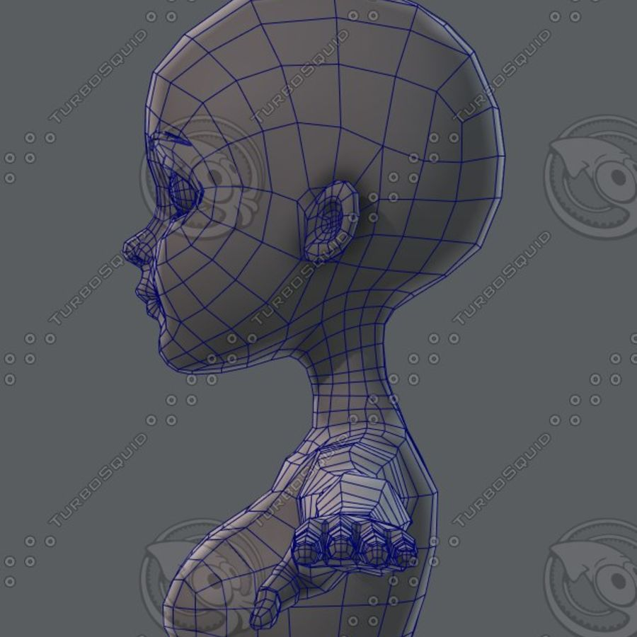 Mulher de malha de base 02 royalty-free 3d model - Preview no. 64