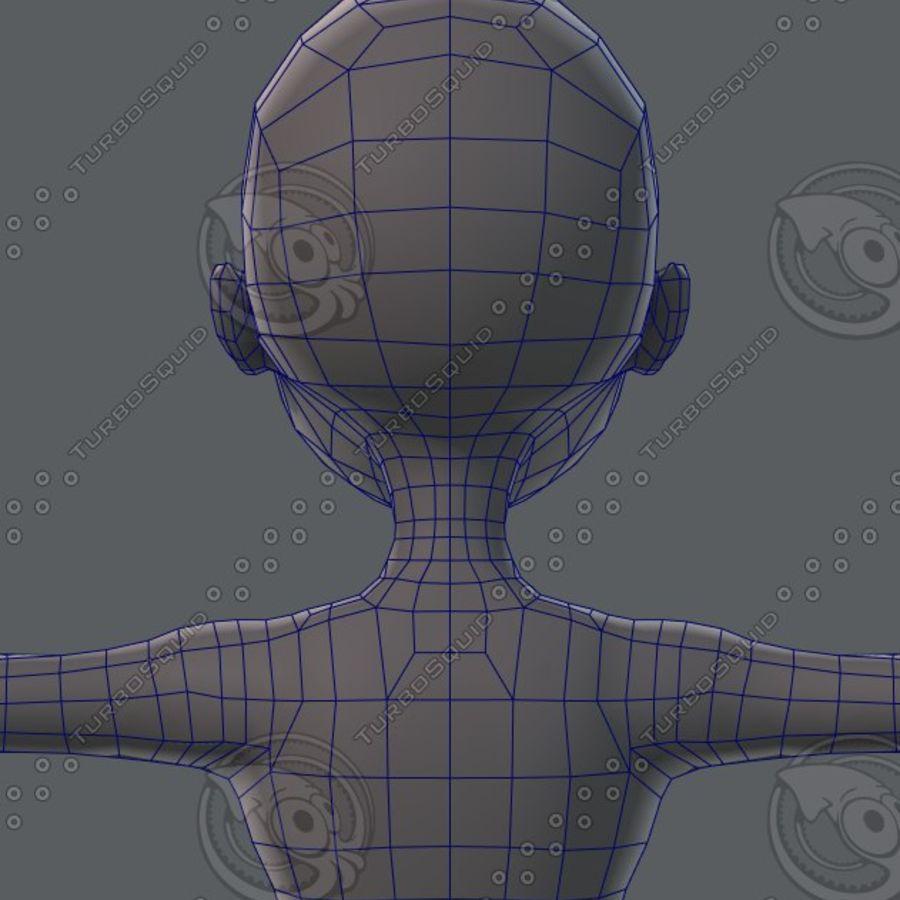 Mulher de malha de base 02 royalty-free 3d model - Preview no. 62