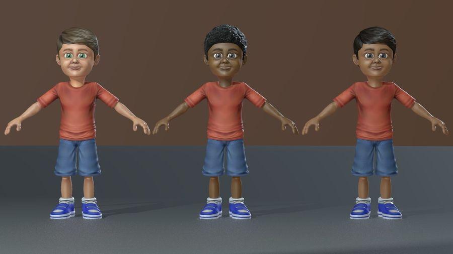 Exploring Boy royalty-free 3d model - Preview no. 4