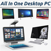 All In One Desktop PC 3D Models Collection 2 3d model