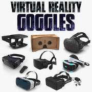 Virtual Reality Goggles 3D Models Collection 4 3d model