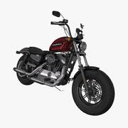 Sportster Forty-Eight 2018 년 3d model