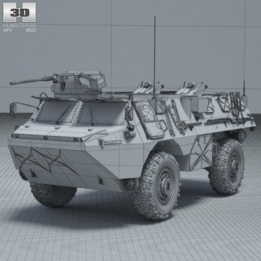 VAB APC royalty-free 3d model - Preview no. 3