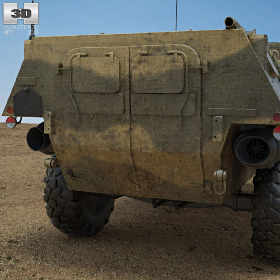 VAB APC royalty-free 3d model - Preview no. 7