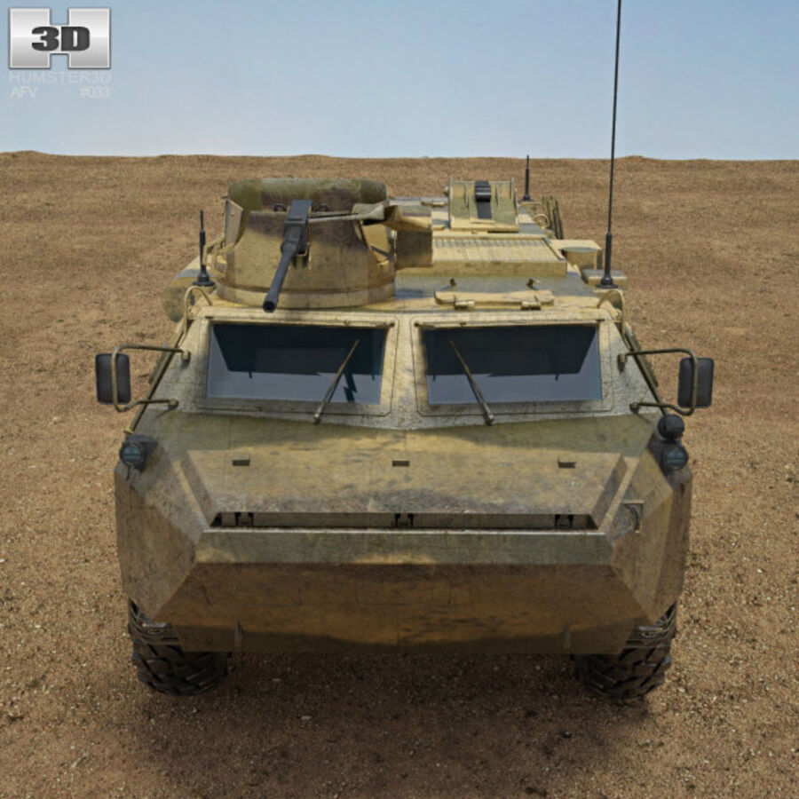 VAB APC royalty-free 3d model - Preview no. 10