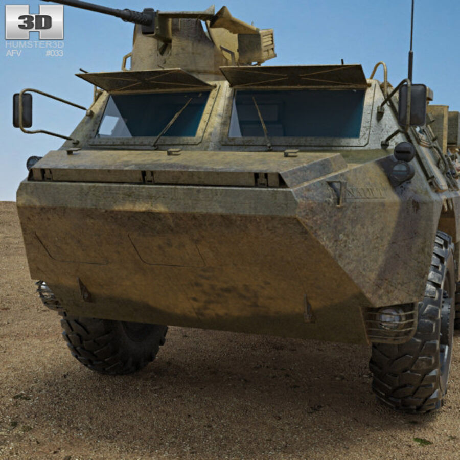 VAB APC royalty-free 3d model - Preview no. 6
