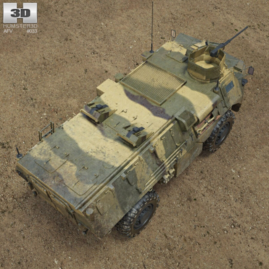 VAB APC royalty-free 3d model - Preview no. 9