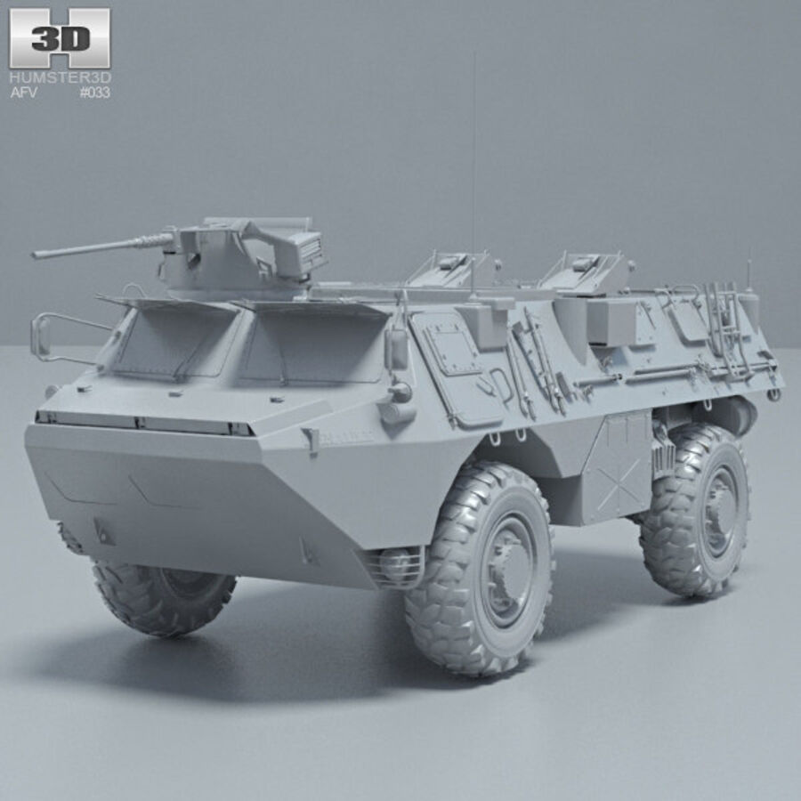 VAB APC royalty-free 3d model - Preview no. 11