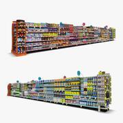 Einzelhandel Gang 04 - Küche & Süßigkeiten 3d model