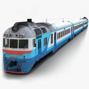 D1 Diesel Train 3d model
