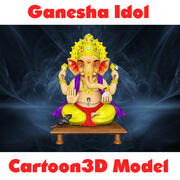 Ganesha Idol (modèle Cartoon3D) 3d model