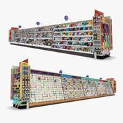 Einzelhandel Gang 11 - Zeitschriften & Grußkarten 3d model