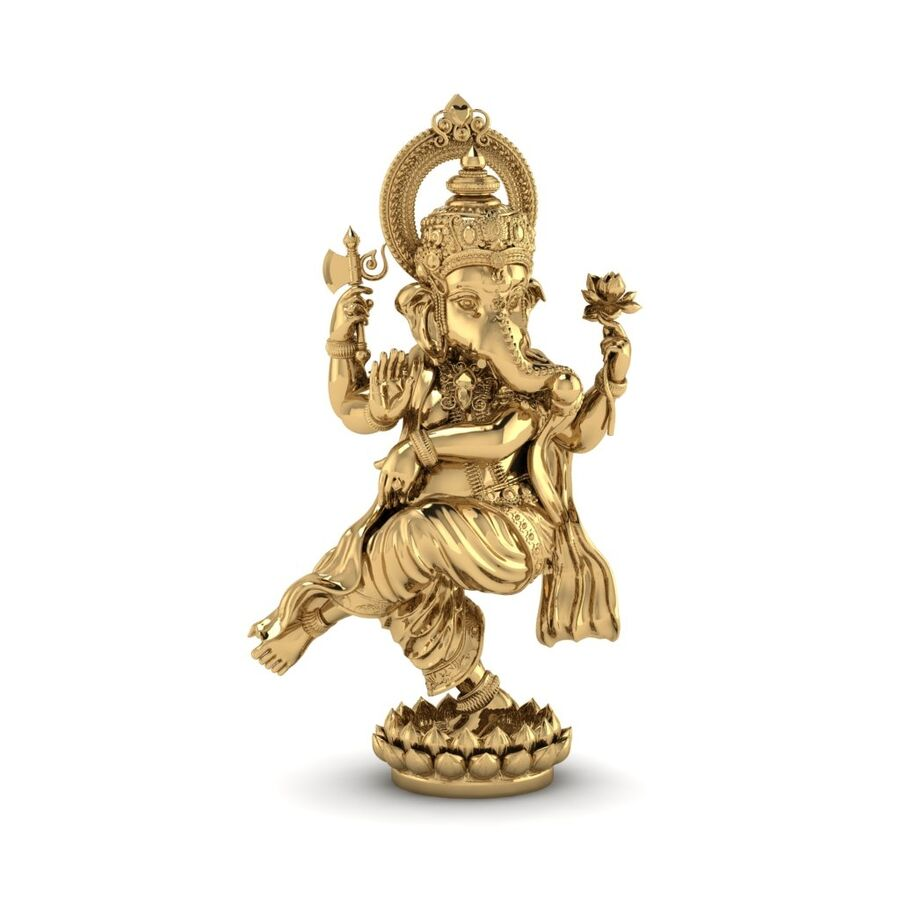 Lord Ganesha 3D-modell royalty-free 3d model - Preview no. 4