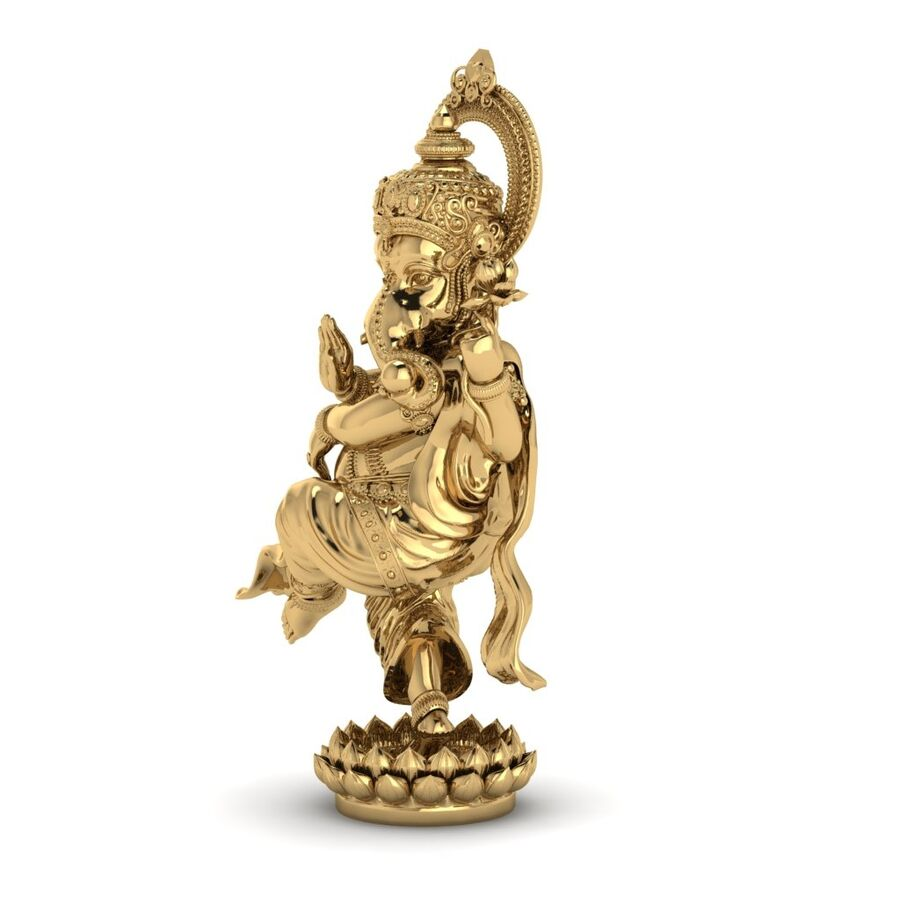 Lord Ganesha 3D-modell royalty-free 3d model - Preview no. 8