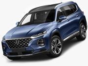 Hyundai Santa Fe 2019 3d model