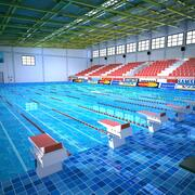 Sporty olimpijskie Pływanie 2 3d model