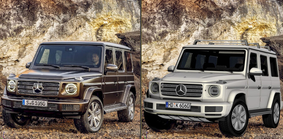 Mercedes-Benz G-Class 2018 royalty-free 3d model - Preview no. 20