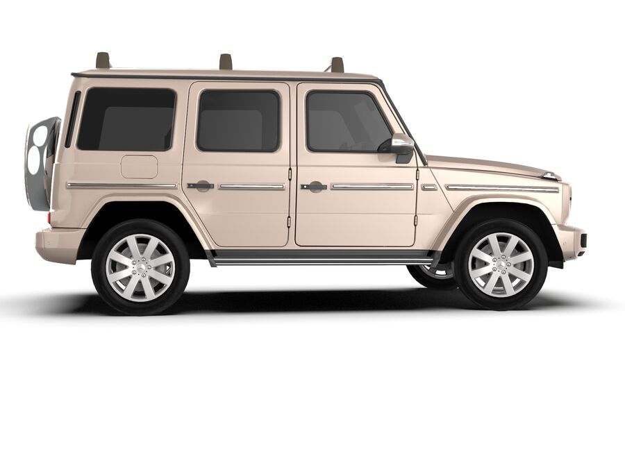 Mercedes-Benz G-Class 2018 royalty-free 3d model - Preview no. 5