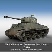 M4A3E8 Шерман - JGSDF - 3318 3d model