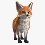 Foxy Fox 3d model