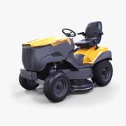 Tracteur de pelouse 3d model