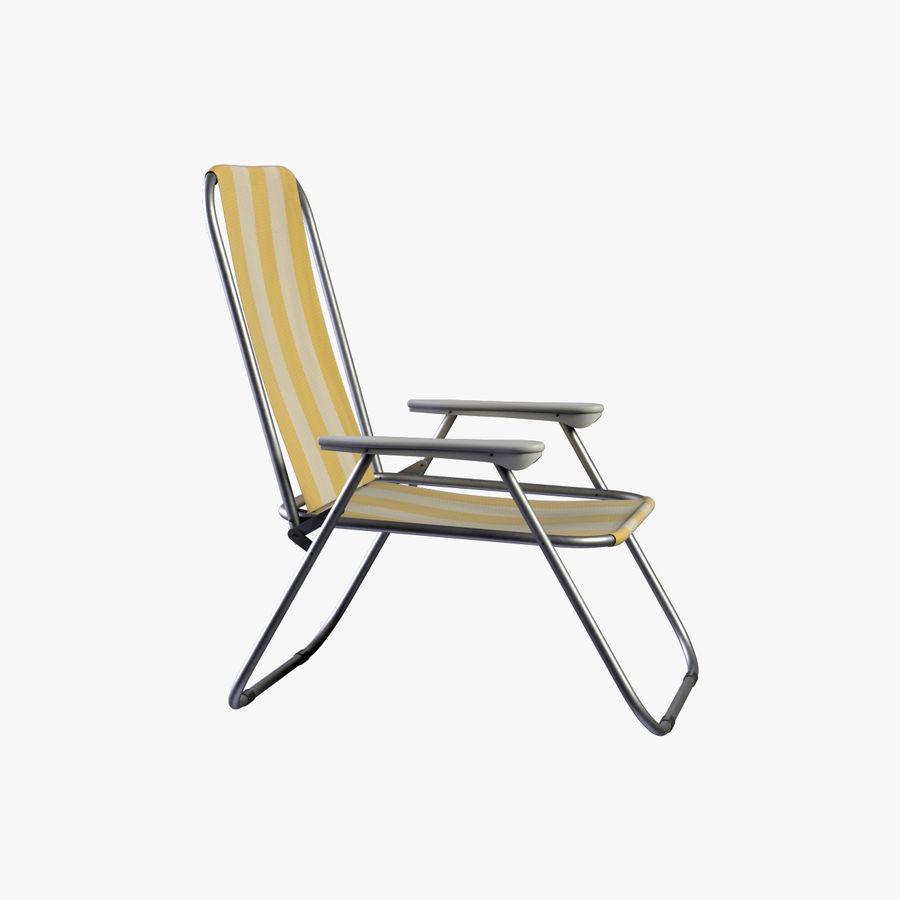 Кресло для отдыха royalty-free 3d model - Preview no. 2