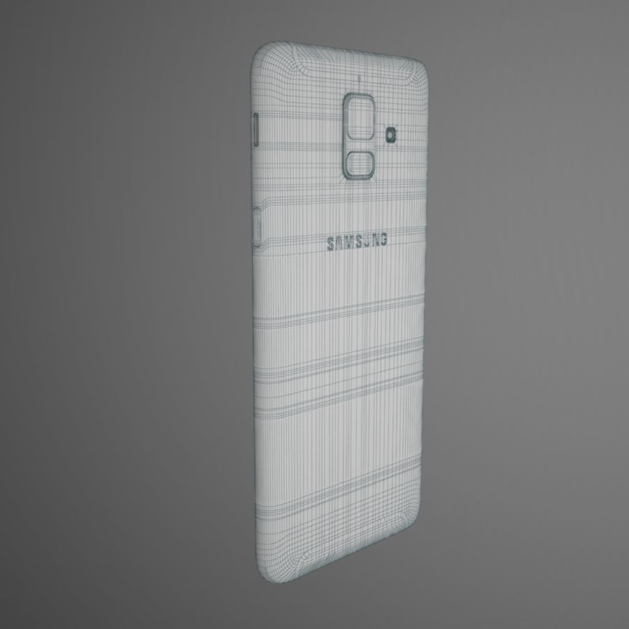 Samsung Galaxy A6(2018) Model royalty-free 3d model - Preview no. 10