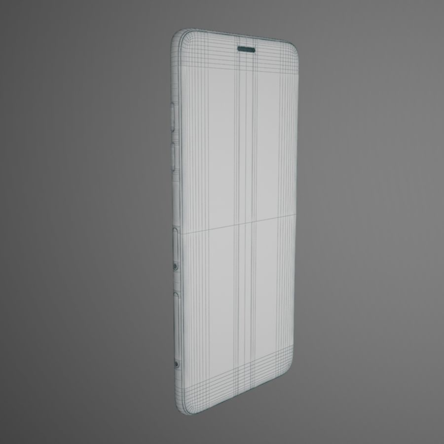 Samsung Galaxy A6(2018) Model royalty-free 3d model - Preview no. 9