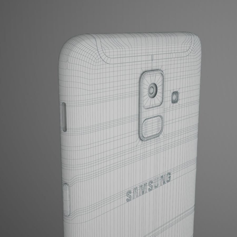 Samsung Galaxy A6(2018) Model royalty-free 3d model - Preview no. 15