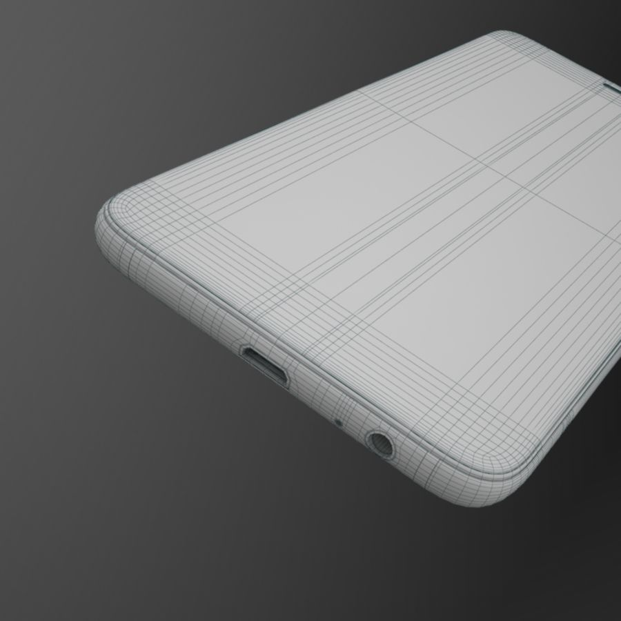 Samsung Galaxy A6 (2018) Modell royalty-free 3d model - Preview no. 13