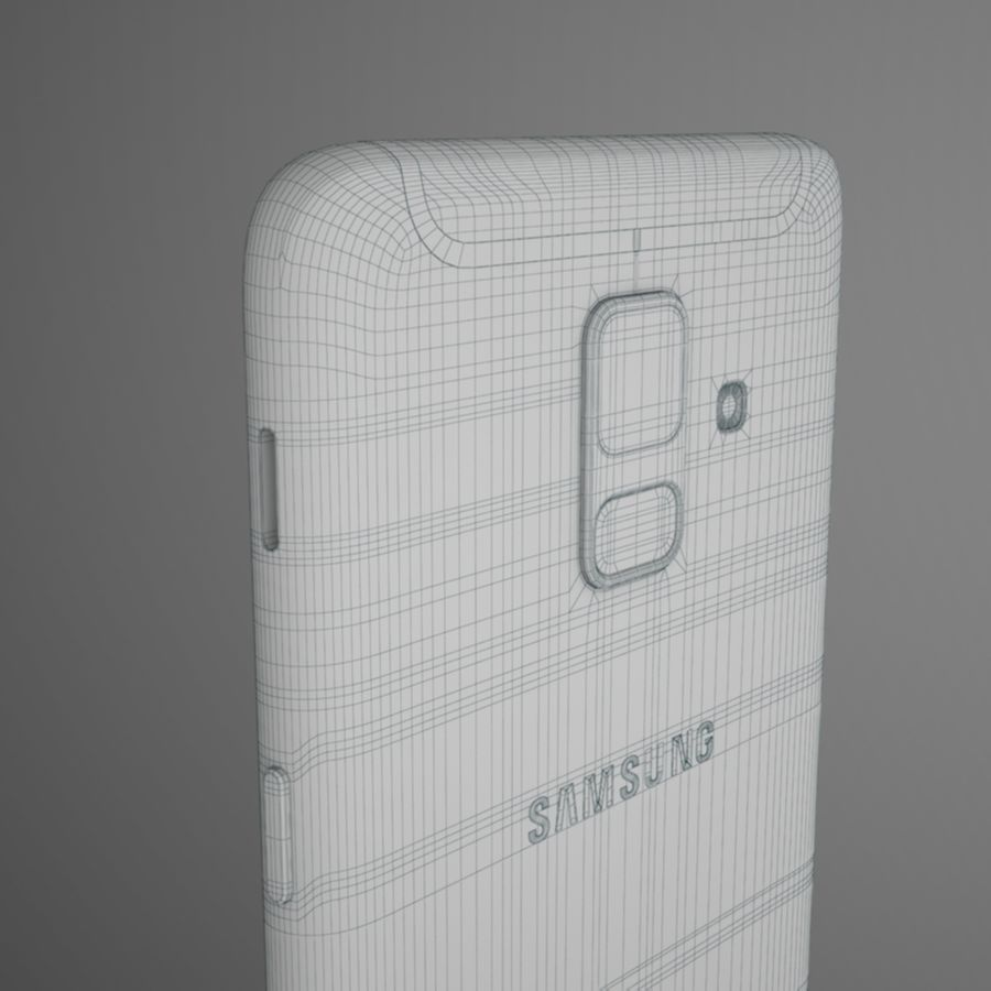 Samsung Galaxy A6(2018) Model royalty-free 3d model - Preview no. 12