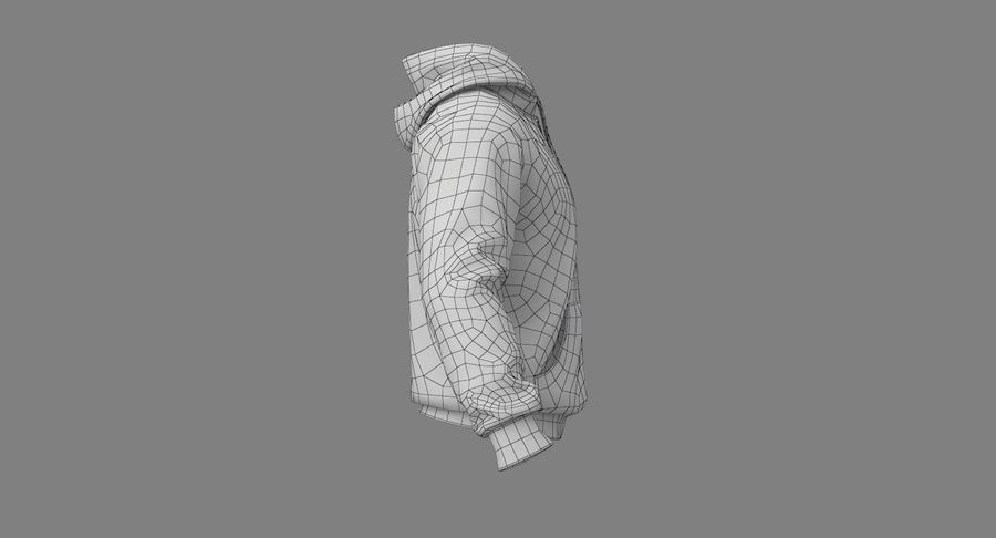Hoodie 02 (White) +PBR royalty-free 3d model - Preview no. 29