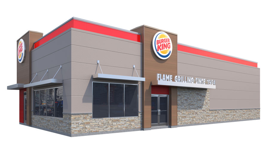 Retail-037 Burger King-002 3D Model $49 -  unknown  max  obj