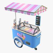 아이스크림 장바구니 3d model
