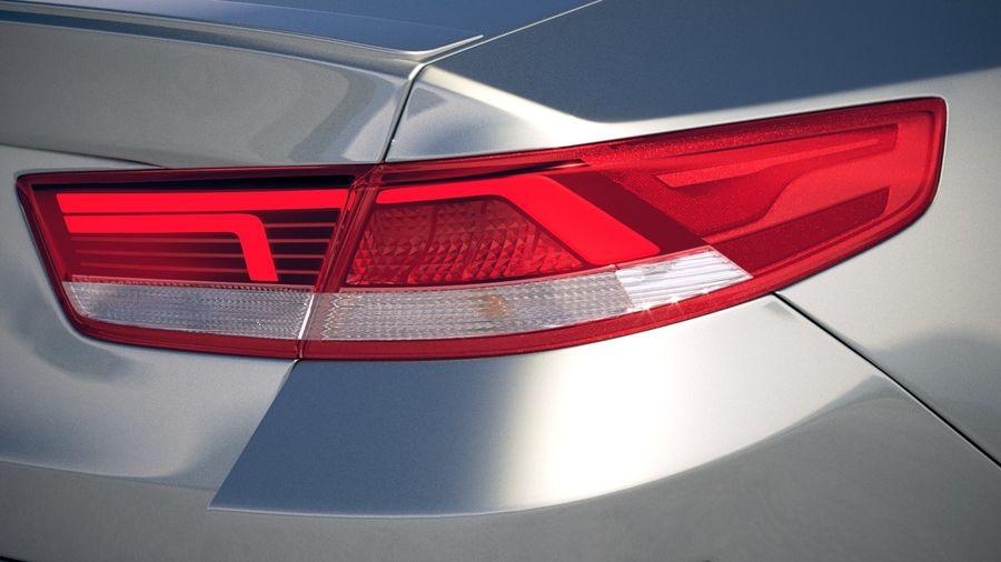 Kia Optima 2019 royalty-free 3d model - Preview no. 17