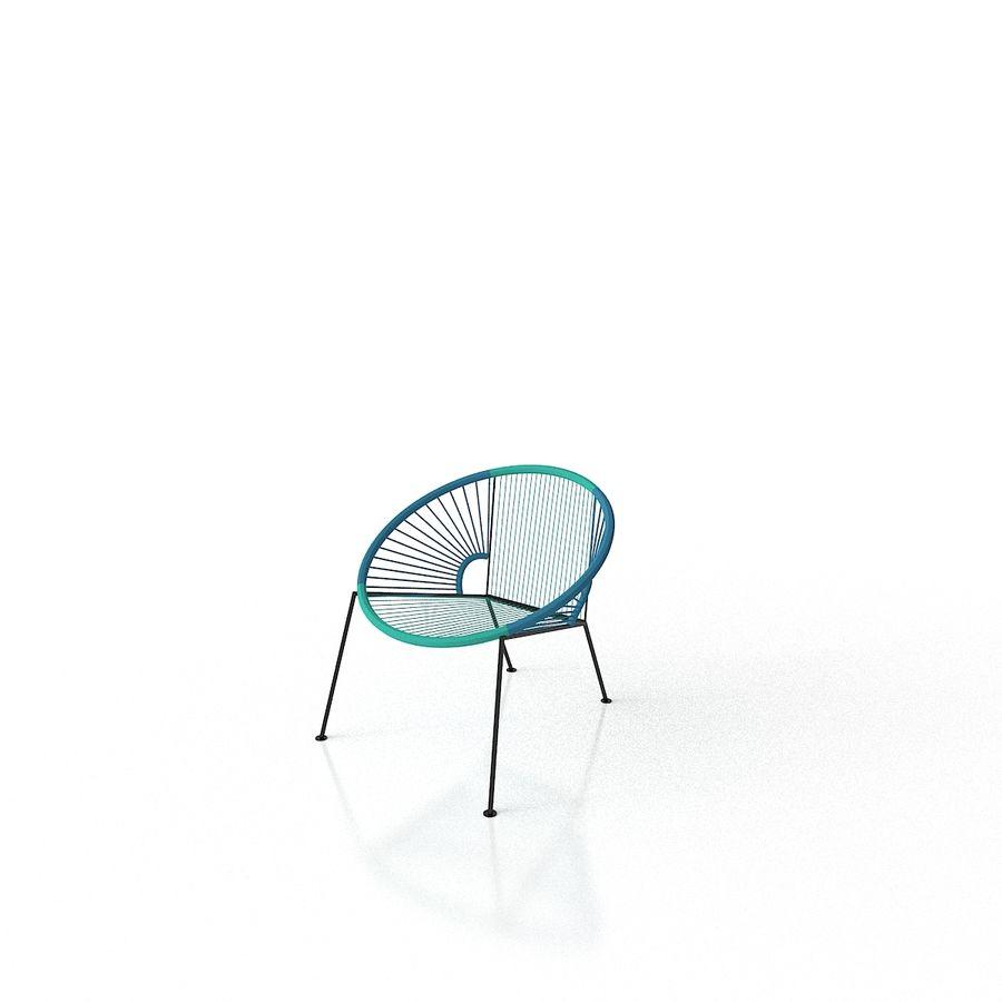 Fine Cb2 Ixtapa Blue Outdoor Lounge Chair 3D Model 5 Max Obj Pdpeps Interior Chair Design Pdpepsorg