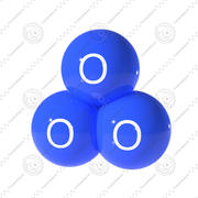 Ozone Atom 3d model