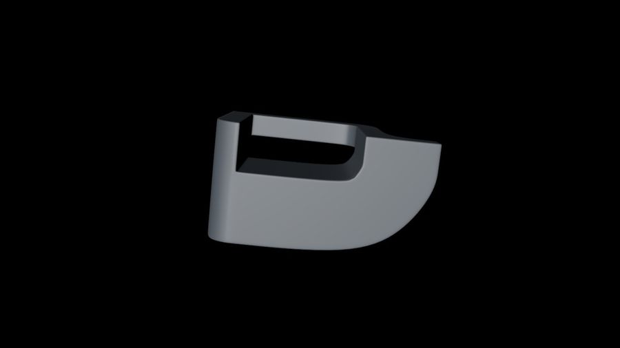 монтаж на трубу royalty-free 3d model - Preview no. 7