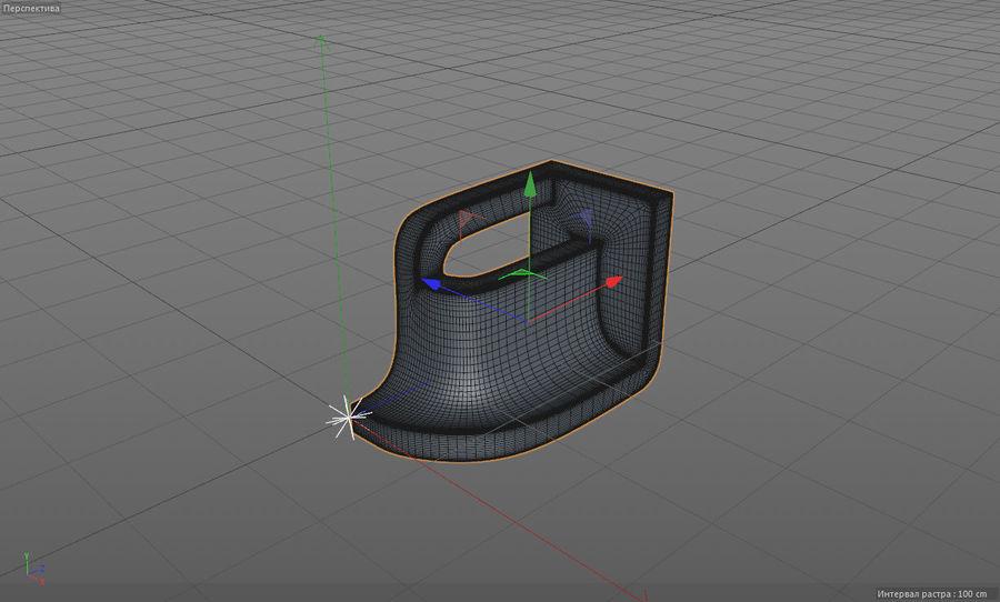 монтаж на трубу royalty-free 3d model - Preview no. 3