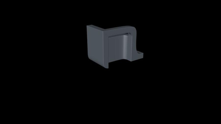 монтаж на трубу royalty-free 3d model - Preview no. 5