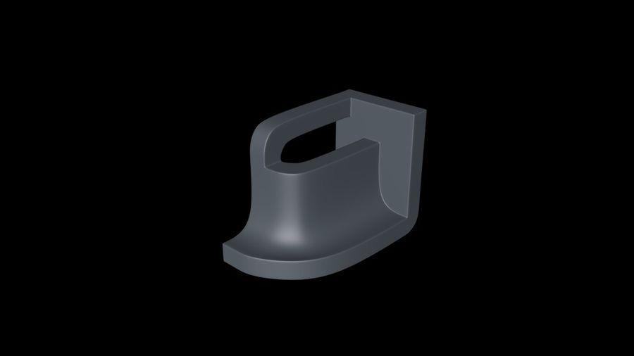 монтаж на трубу royalty-free 3d model - Preview no. 4