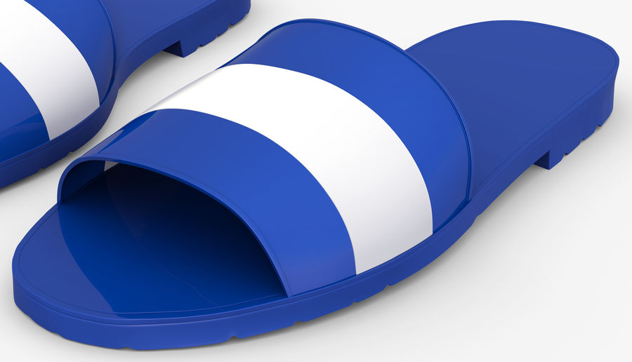 Flips-Flops royalty-free 3d model - Preview no. 3