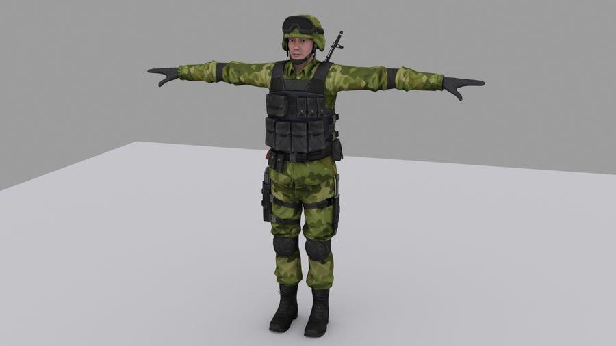 Arma Asker royalty-free 3d model - Preview no. 1