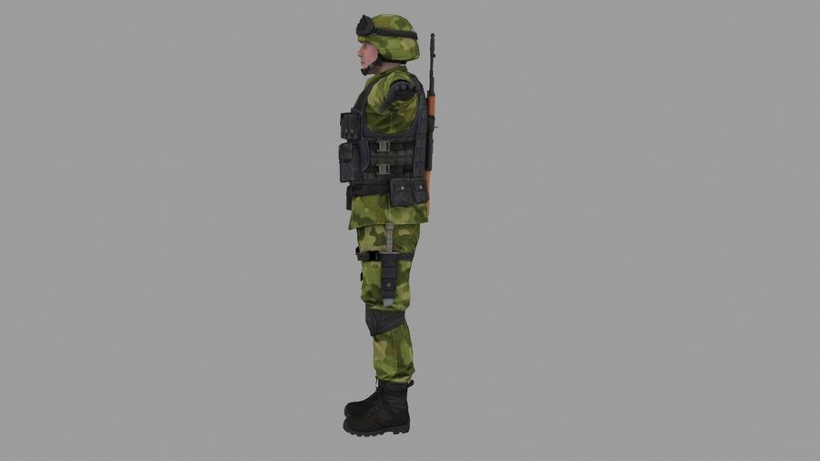 Arma Asker royalty-free 3d model - Preview no. 3