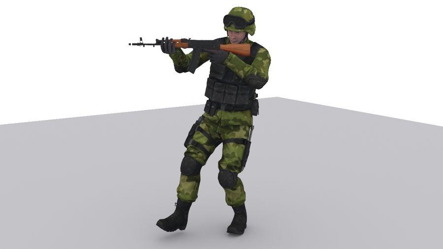 Arma Asker royalty-free 3d model - Preview no. 2