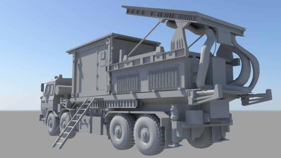 camión militar royalty-free modelo 3d - Preview no. 4