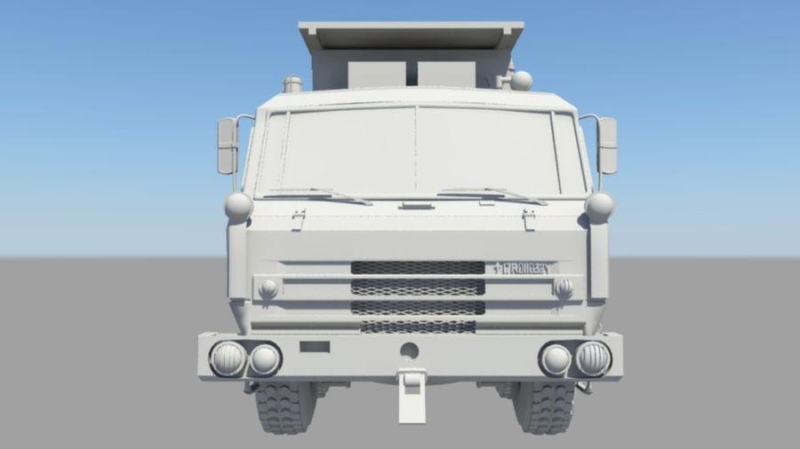 camión militar royalty-free modelo 3d - Preview no. 5