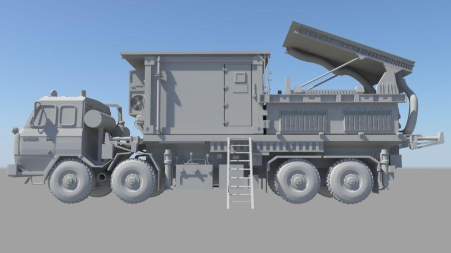 camión militar royalty-free modelo 3d - Preview no. 1