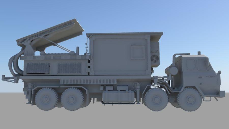 camión militar royalty-free modelo 3d - Preview no. 3